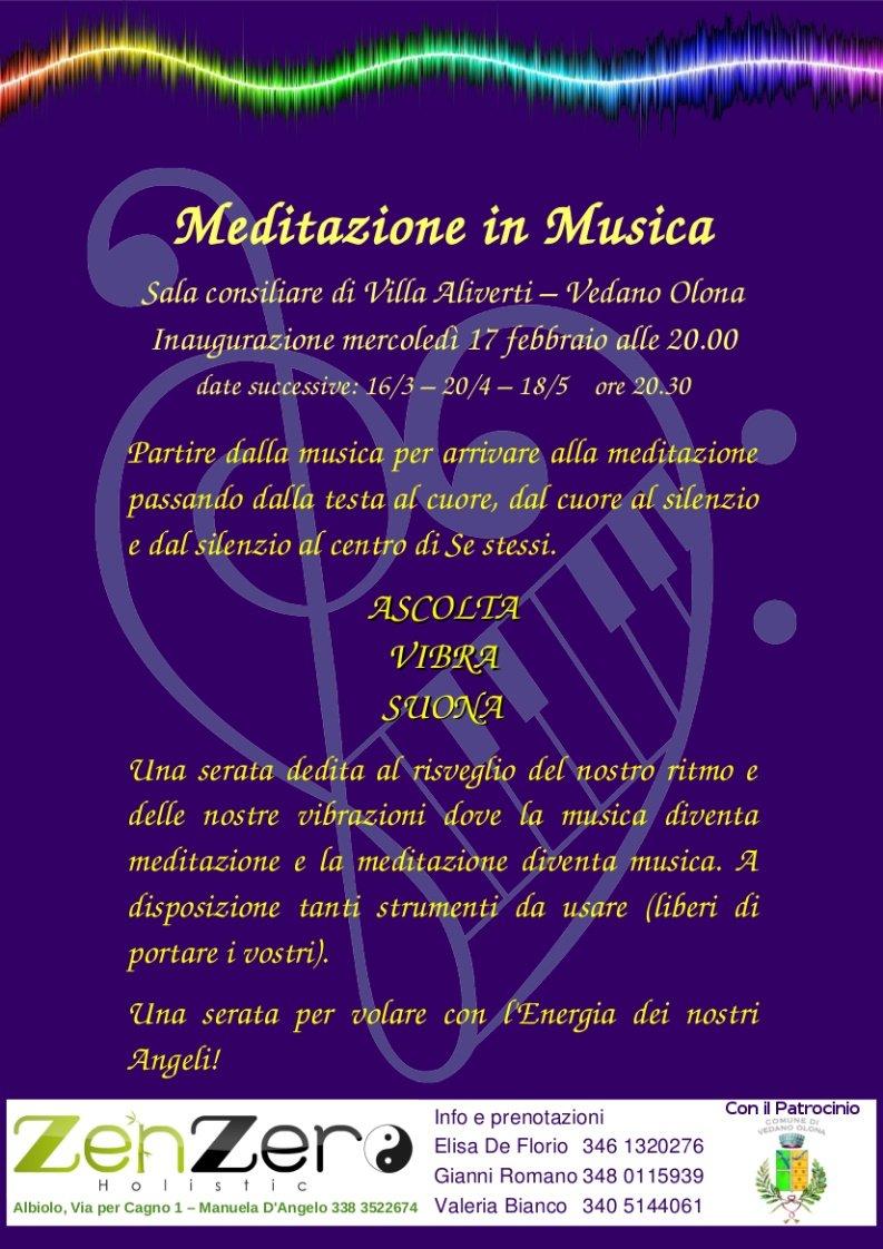 Meditazione in Musica a Vedano Olona